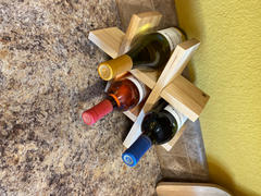 Harp Design Co Hickory Wine Holder Review