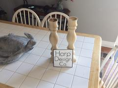 Harp Design Co HDC Signature Candlestick Natural Review