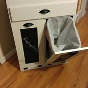 Lovemade14 tilt out double bin with a drawer slim style (D-SLIM-DRAW-W) Review
