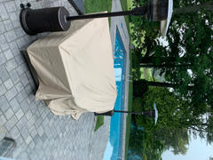 DOLA Patio Outdoor Sectional Cover Waterproof 126 Square Extra Large Review