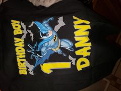 cuztomthreadz Personalize Batman Birthday Shirt Review
