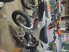 Factory Minibikes NEW!!! BBR +1.75 Stock Comp Signature Series Extended Swingarm - KLX110 & 110L Review