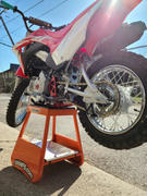 Factory Minibikes Billet Cradle - Black/Red/Raw - CRF110 Review
