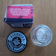 HighKind Cannabis Co CBD Crystal - Artisan - Raspberry Cookies - 0.5g Review