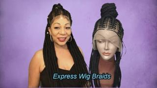 Express Wig Braids Cornrow Ponytail-Stella Review