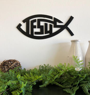 Bluewater Decor Jesus Fish Review
