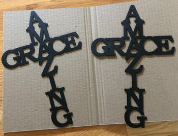 Bluewater Decor Amazing Grace Cross Review