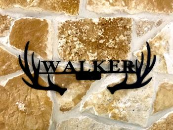 Bluewater Decor Antler Monogram (Name Only) Review