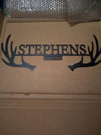 Bluewater Decor Antler Monogram Review