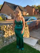 Oh Hello Clothing Glamour Girl Gown Green Review