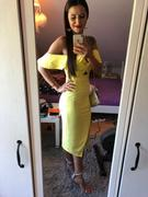 Oh Hello Clothing Alba Midi Dress Yellow Review