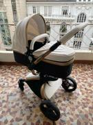 T A Y Online Store Aulon Brand Baby Stroller 3 in 1 With Car Seat High View Pram For Newborns Folding 360 Degree Rotation Review