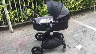 T A Y Online Store Luxury Baby Carriage High Landscape 3 In 1 Baby Stroller With Crib And Car Seat For Newborns Portable Folding Baby Prams Review