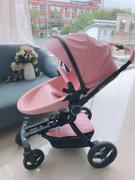 T A Y Online Store 2019 Design Luxury Leather Max Of Aulon Brand Baby Stroller 2 in 1 With Bassinet High Landscape Baby Carriage Review