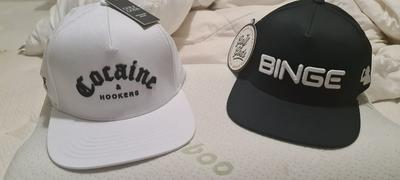 teamgolfgodsusa Golf Gods - BINGE Black SnapBack Review