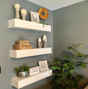 Kate & Laurel Boxx Floating Wall Mantel Shelf Review
