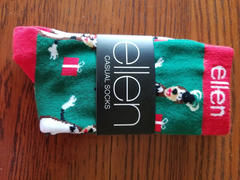 The Ellen DeGeneres Show Shop ellen Show Holiday Dasher Socks Review