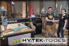 Hytek Tools  SIGN TEK 4x8 CNC Machine Review