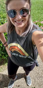 Closet Candy Boutique Good Vibes Graphic Tank - Charcoal Review