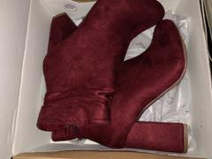 Closet Candy Boutique Annie Slouchy Ankle Booties - Wine Review
