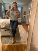 Closet Candy Boutique KAN CAN Ashley Raw Hem Jeans - Dark Wash Review