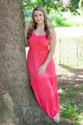 Closet Candy Boutique LUSH Take A Chance Maxi Dress - Coral Review