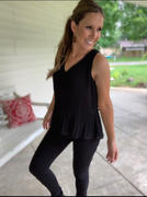 Closet Candy Boutique Working Hard Peplum Top - Black Review