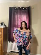 Closet Candy Boutique Let's Luau Off The Shoulder Top - Navy Review