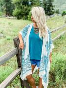 Closet Candy Boutique Near The Water Kimono - Teal Review