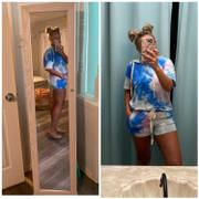Closet Candy Boutique Relaxin' All Day Tie Dye Loungewear - Blue Review