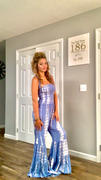 Closet Candy Boutique Stand Up For You Tie Dye Jumpsuit - Blue Review