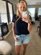 Closet Candy Boutique KAN CAN Sierra Denim Shorts - Light Wash Review