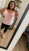 Closet Candy Boutique Catch Me If You Can Tie Dye Cami - Pink Review
