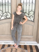 Closet Candy Boutique Do All The Things Jumpsuit - Vintage Charcoal Review