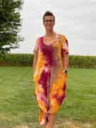 Closet Candy Boutique Let Them Hear You Tie Dye Maxi Dress - Berry Review