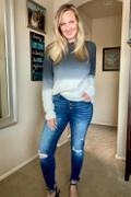 Closet Candy Boutique CBRAND Be The Light Distressed Sweater - Black Review