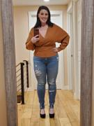Closet Candy Boutique Wear On Repeat Sweater - Terracotta Review