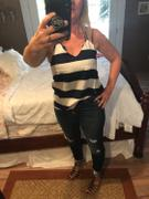 Closet Candy Boutique KAN CAN Retro Exposed Button Jeans - Dark Wash Review