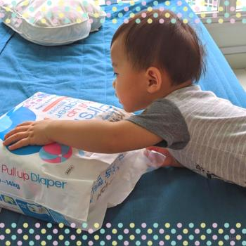 k-mom singapore First Pull Up Diaper (Dual Story / First Pull Up) Review
