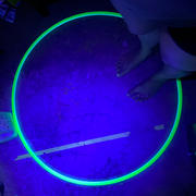 The Spinsterz UV Glow Polypro Hoop Review