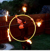 The Spinsterz Pele Fire Hula Hoop Wick Review