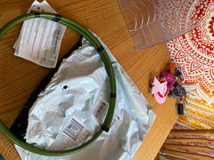The Spinsterz Metallic Olive Branch Polypro Hula Hoop Review