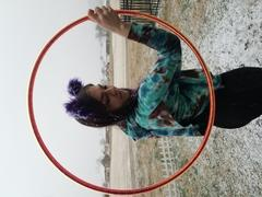 The Spinsterz Electric Flamingo Polypro Hoop Review