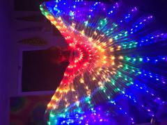 The Spinsterz LED Light Up Isis Wings Review