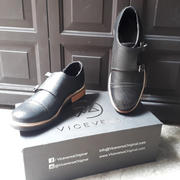 Viceversa Viceversa - Zapatos Monk Strap Color Negro Review