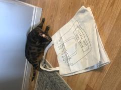 Mimi & August More Cats Less Plastic - Natural Tote Bag Review