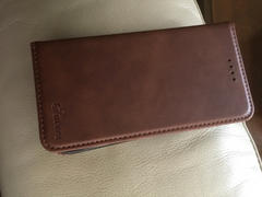 iiCase Leather wallet magnet close 3 card slots iPhone case Review