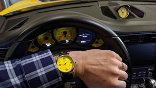 Ferro & Company Watches One Hand Watch Yellow Dial Quartz Review