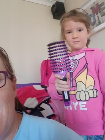 Happy Hair Brush Princess Pack Review