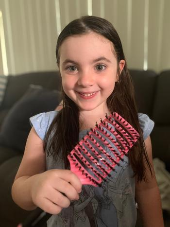 Happy Hair Brush Happy Hair Brush Pink Review